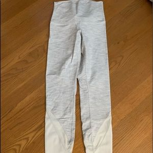 White LuLu Lemon 7/8 Leggings. Size 4